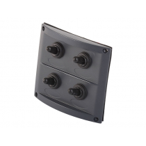 Splashproof 4-Way Switch Panel