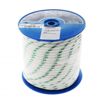 Donaghys Yachtmaster XS Cruising Braid Rope 12mm x 1m Green Fleck