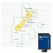 Navionics Platinum Plus Chart Card 8P160XL New Zealand SD/MSD Card