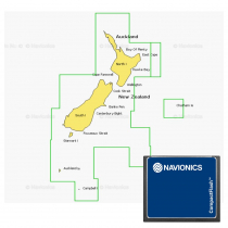 Navionics Platinum Plus Chart Card 8P160XL New Zealand CF Card