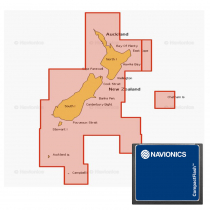 Navionics Plus Regions Chart Card NZ North and South Island CF
