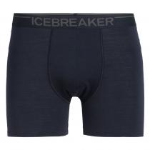 Icebreaker Merino Mens Anatomica Boxers Midnight Navy