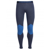 Icebreaker Mens BodyFitZONE Merino Winter Zone Leggings Blue XXL