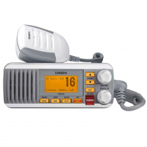 Uniden UM385 Fixed Mount VHF Marine Radio with DSC 25w White