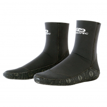 Aropec Supratex Neoprene Dive Socks 5mm Black