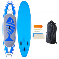 AquaWarrior Deluxe Inflatable Stand Up Paddle Board 10ft 6in