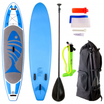 AquaWarrior Deluxe Inflatable Paddleboard 11ft