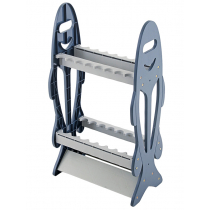 Fishing Standing 16 Rod Rack