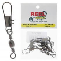 Reel Deals Snap Swivels Size 1 Qty 6