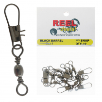 Reel Deals Snap Swivels Size 5 Qty 10