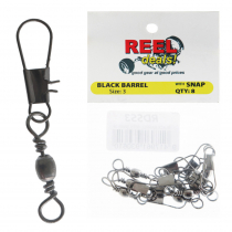Reel Deals Snap Swivels Size 3 Qty 8
