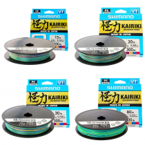 Shimano Kairiki 8 Multi-Colour Braid