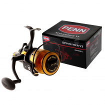 PENN Spinfisher VI 8500 Live Liner and Allegiance II Spinning Strayline Combo 6'2'' 10-15kg 1pc