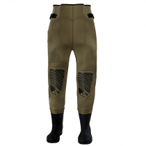 Snowbee Neoprene Waist Waders with Cleated Sole