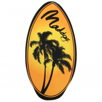 Maddog Skimboard Wedge Assorted Designs 37in