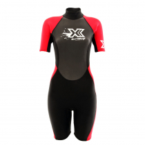 Extreme Limits Reef 2.5mm Womens Springsuit Black/Red