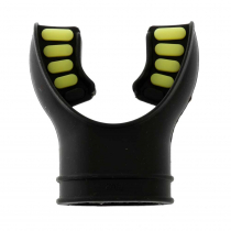 Pro-Dive Silicone Mouthpiece for Dive Regulators Yellow Inserts