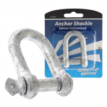 Jarvis Marine Galvanised D Shackle 10mm