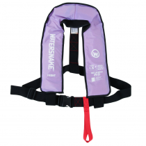 Watersnake Manual Level 150 Inflatable PFD Life Jacket Adult Lilac