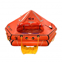 Crewsaver 4-Man ISO Ocean Offshore Liferaft Over 24hr Container