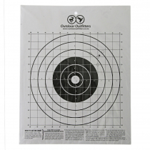 Outdoor Outfitters Cardboard Targets Medium A4 Qty 10