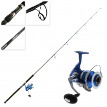 Okuma Azores Blue 9000 Stickbait Combo with Tube 7ft 9in PE4-6 3pc