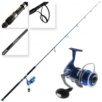 Okuma Azores Blue 6500 Stickbait Combo with Tube 7ft 9in 45-150g 3pc