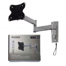 Evoke 13-32in Travel Bracket Wall Mount Fold & Lock