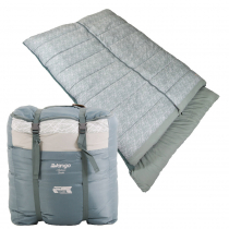 Vango Ambience Grey Print Double Sleeping Bag