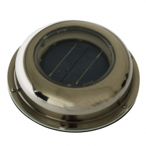 Multi Function Solar Ventilator Stainless Cowl