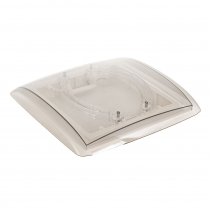 MPK 4-Way Roof Vent 400x400mm Clear Dome