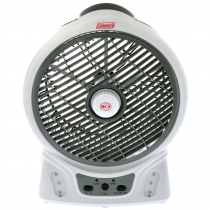 Coleman Rechargeable Fan with LED Light 8""