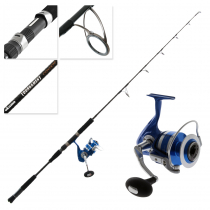 Okuma Azores Blue 9000 and Tournament Concept Spin Jig Combo 5ft 3in 200-350g 1pc