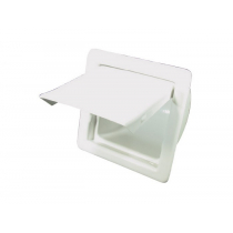 BLA SSI Recessed Toilet Paper Holder - White