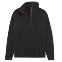 Musto Crew Half Zip Microfleece Jacket Black