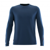 Musto Sunshield Long Sleeve T-Shirt True Navy