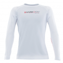Sharkskin Rapid Dry Long Sleeve Rash Top White