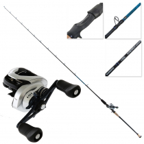 Shimano Tranx 201A-HG and Energy Concept Inshore Slow Jig Combo 6ft 8in PE1-2 90-160g 2pc