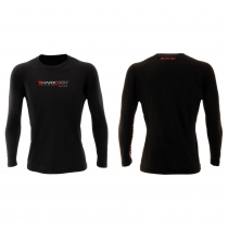 Sharkskin Rapid Dry Long Sleeve Rash Top Black/Charcoal