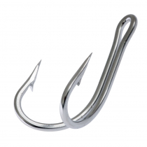 Mustad 7982HS Double Stainless Hook 6/0 Qty 1