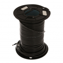 GYY 10mm Marine Grade Cable 1-Core Tinned Approved 1m Black