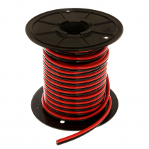 Flexible Twin Core Marine Cable 25mm per Metre Red/Black