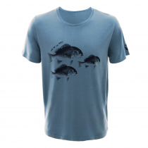 LegaSea X Barkers Snapper Mens T-Shirt Light Blue