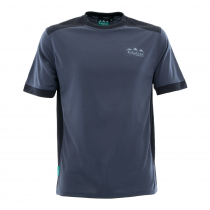 Ridgeline Mens Breeze T-Shirt Charcoal/Black