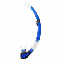 Mares Fiji Reflex Semi-Dry Dive Snorkel Blue