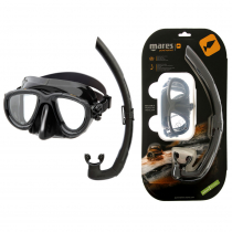 Mares Tana Dive Mask and Snorkel Set Black