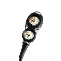 Mares Mission 2 Dive Depth and Pressure Gauge