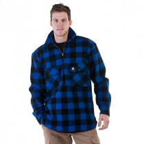 Swanndri Mens Ranger Pure Wool Shirt Blue Black