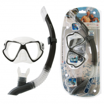 Mares Wahoo Adult Dive Mask and Snorkel Set Clear