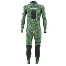 Mares Phantom 5mm Steamer Spearfishing Wetsuit Camo Green